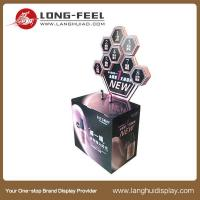 Quality cosmetic floor display stand dump bin show case for sale