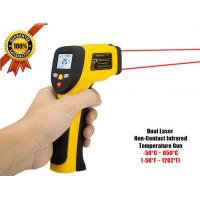 China Temperature Gun Dual Laser Non-Contact Infrared Thermometer on sale