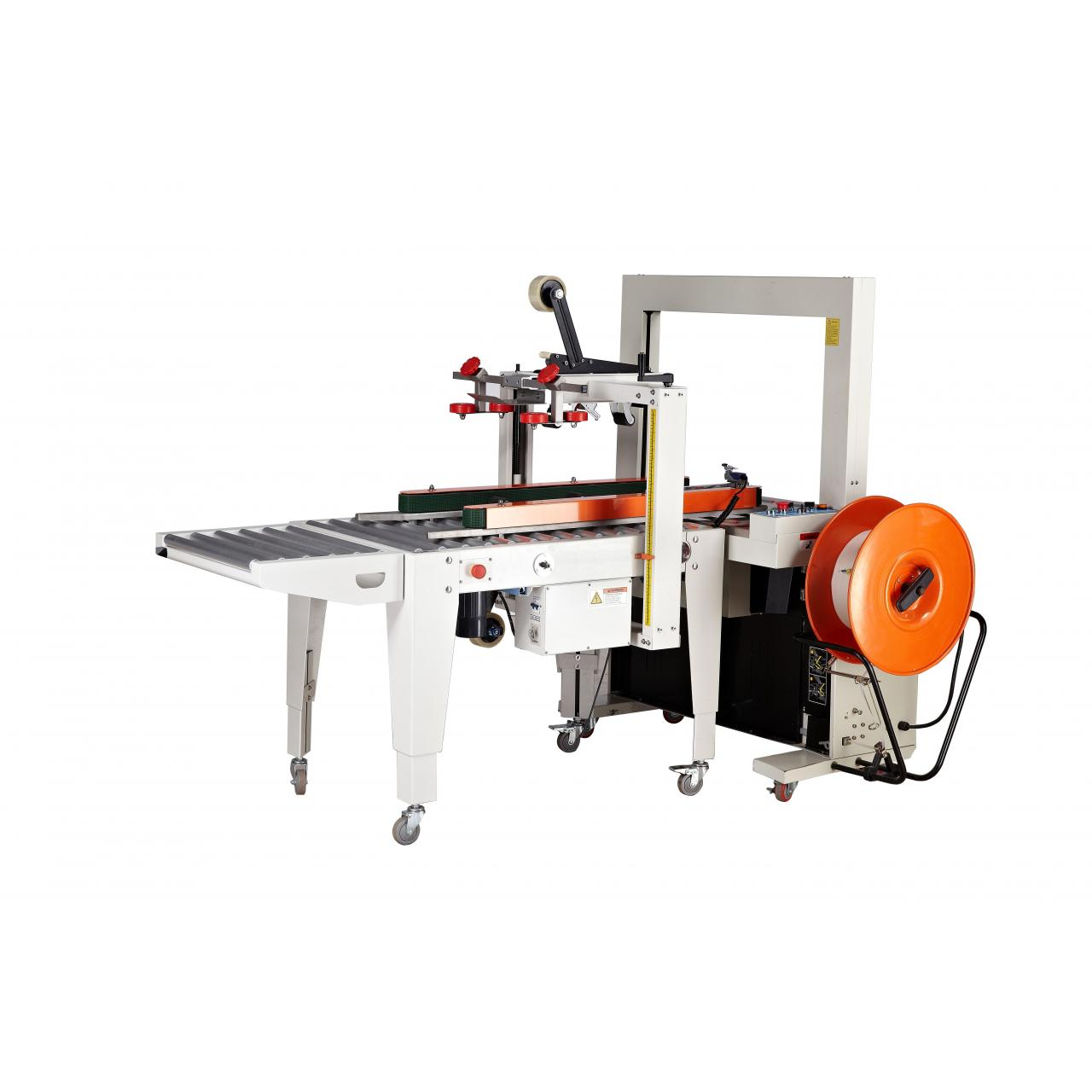 automatic tape sealing & belt strapping machine