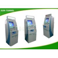 Buy cheap Cold Rolled Steel Material Custom Kiosk Printer Ticket Dispenser Machine 60MHZ from wholesalers