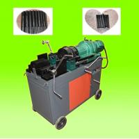 Buy cheap Construction Building Rebar Coupler Machine , Chaser Type Rebar Processing Machine from wholesalers