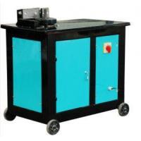 Buy cheap 4.0KW Electric Rebar Bending Machine Semi - Automatic For Flat Bar Bending from wholesalers