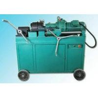Buy Rebar Thread Rolling Die Head Threading Machine Portable For Railway Station at wholesale prices