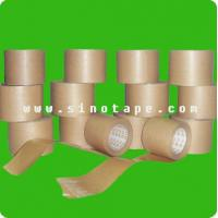 China glass cloth adhesive tape Wet craft paper adhesive tape on sale