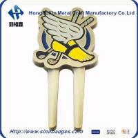 China Magnetic Gold Divot Fixer with Caiton Golf Ball Marker on sale