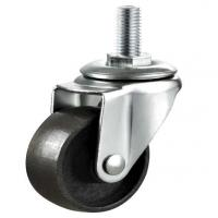 Buy cheap 32mm-125mm cast iron caster wheel furniture wheel thread pin from wholesalers