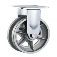 Buy cheap heavy duty v grooved cast iron wheel caster gate wheels from wholesalers