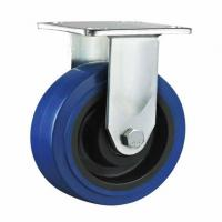 Buy cheap N845 heavy duty elastic rubber fixed caster from wholesalers