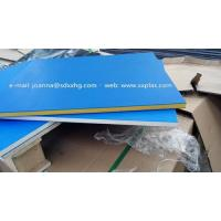 Quality Dual color HDPE Plastic sheet for outdoor sign board for sale