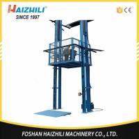 China China manufacture guide rail hydraulic portable lift platform for sale on sale