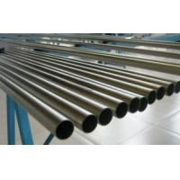 China seamless GR2 ASTM B338 titanium round tubes and pipes for exchage. on sale