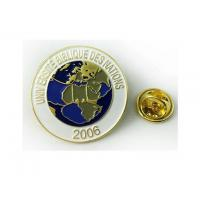 Buy cheap Metalproducts Soft enamel lapel pin 005 from wholesalers