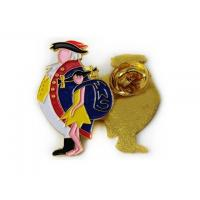 Buy cheap Metalproducts Soft enamel lapel pin 007 from wholesalers
