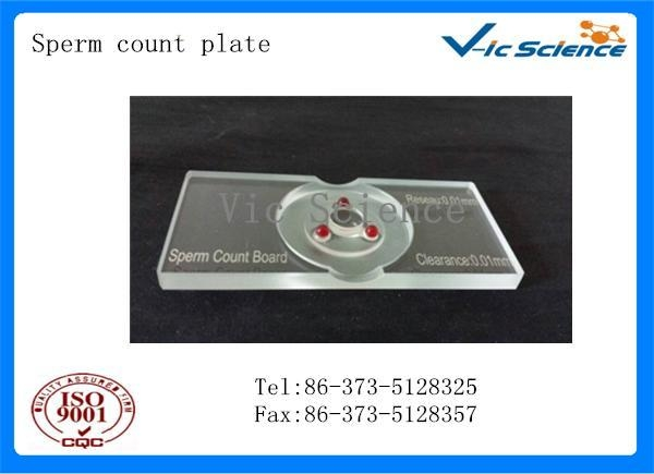 Buy Cell counting chamber Sperm counting plate at wholesale prices