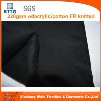 Buy cheap 220gsm Modacrylic/cotton Interlock Knitted Fabric from wholesalers