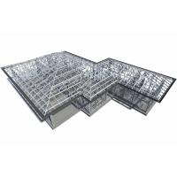 Quality Pipe Truss Steel truss roof design for sale