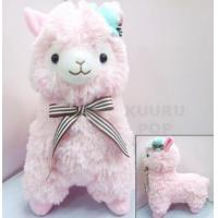 Quality Hat & Bow Alpaca Plush - Pink for sale