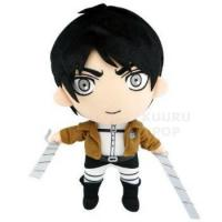Quality Attack on Titan Eren Jaeger Plush - Normal Version for sale