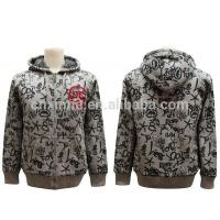 Quality fashion latest design zipper-up promotion cheap china tall hoodies for sale