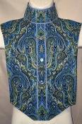 Quality Paisley(19) #149 Light Blue and Gold Paisley for sale