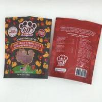 China Sealable Custom Food Packaging Bags Foil Ziplock Pouches OEM / ODM on sale