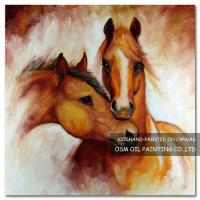 Quality Number:OSM-An10092Home decoration modern frameless Horsespaintings on canvas for sale