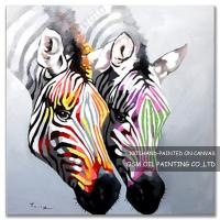 Quality Number:OSM-An10049Modern OriginalAbstract OilpaintingsHorse on canvas for sale