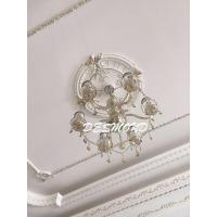 Quality Big Ceiling Medallion Ceiling Rose PU for sale