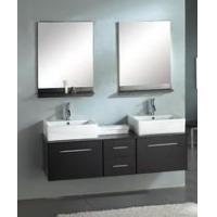 Buy cheap Ariel 59 Inch Double Bathroom Vanity With Two Mirrors from wholesalers