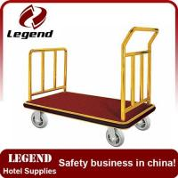China Hot selling Luggage heavy duty hand cart for hotel on sale