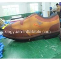Customed Design Giant Inflatable Shoes For Advertising