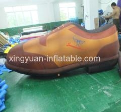 Buy Customed Design Giant Inflatable Shoes For Advertising at wholesale prices