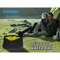 China BH Body 8.5L Portable Outdoor Folding Water Bag Wash Basin Bucket for Camping Hiking Travel on sale
