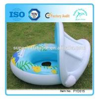 Buy cheap New Covered Children's Swimming Seat Ring Inflatable baby swim-seat from wholesalers