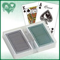 Quality Queen 100% All Plastic Casino Quality Playing Cards - Plastic Box Packing (BAQ145) for sale