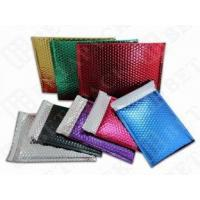 Buy cheap Large Express Post Metallic Mailing Bags , Pink / Gold Foil Envelopes from wholesalers