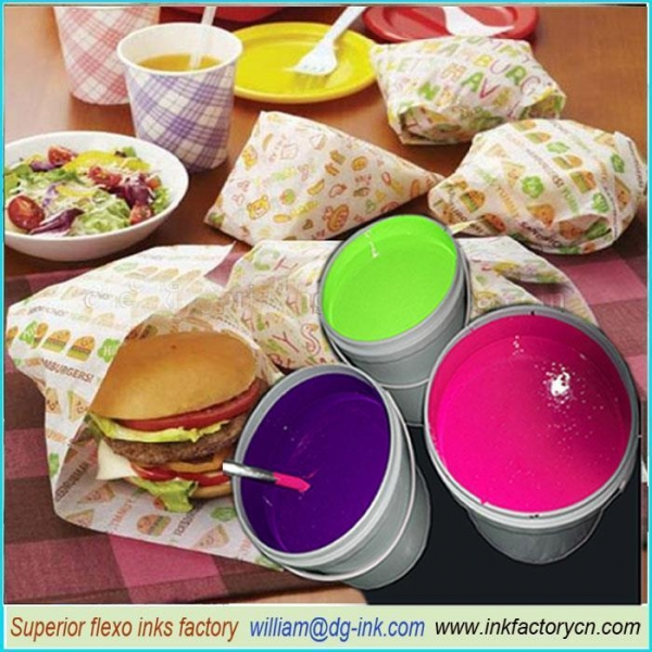 Buy Water-based Ink For Food Wrapping Print at wholesale prices