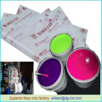 Quality Flexo Inks For Beverage Paper Package for sale