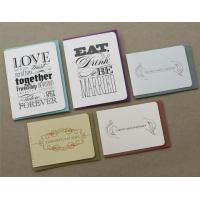 Buy cheap Customized Wedding Card from wholesalers