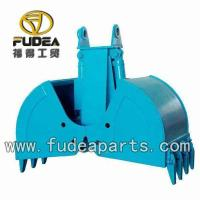 Buy cheap High quality Long Service Life Clamshell Bucket Excavator Grab Grapple made in China manufactory from wholesalers