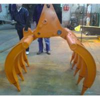 Buy cheap High quality lower price excavator grapple made in china from wholesalers