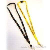 Buy cheap yellow 3/8cm Bootlace String Lanyards from wholesalers