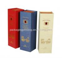 Quality wine wooden box for sale