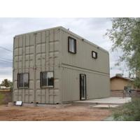 Buy cheap Mobile modular prefab steel frame container house from wholesalers