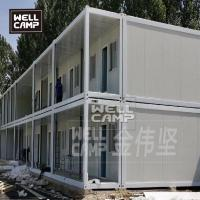 Buy Pre made prefabricated flat pack homes USA for family two floors luxury container buildings at wholesale prices