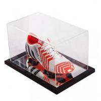 China China Acrylic Football Boot Point of Purchase Display Case on sale