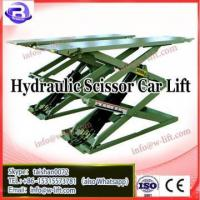 China Mobile 1 post car lift/ used 4 post car lift for sale/car lift scissors 5.5 hydraulic (SS-6125M) on sale