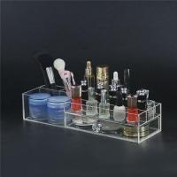 Buy cheap Desktop Clear Acrylic Makeup Organizer from wholesalers