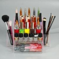 Quality Acrylic Rotating Lipstick Tower for sale