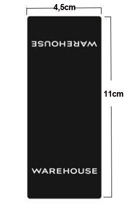 Buy Daily Ware Basement Sticker 4.5*11cm at wholesale prices